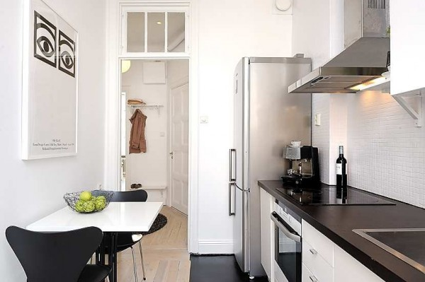 swedish apartment 6 600x399 Modern swedish architecture, a great apartment design