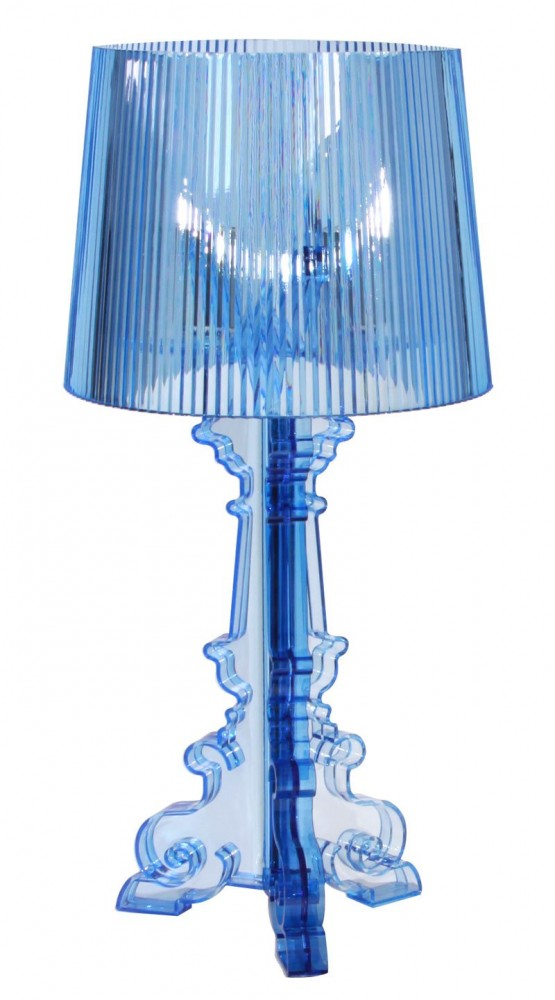 Bourge lamps 1 555x1000 Bourge lamps pallet effect by Kartell