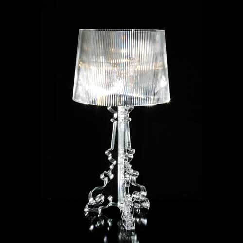 Bourge lamps 2 Bourge lamps pallet effect by Kartell