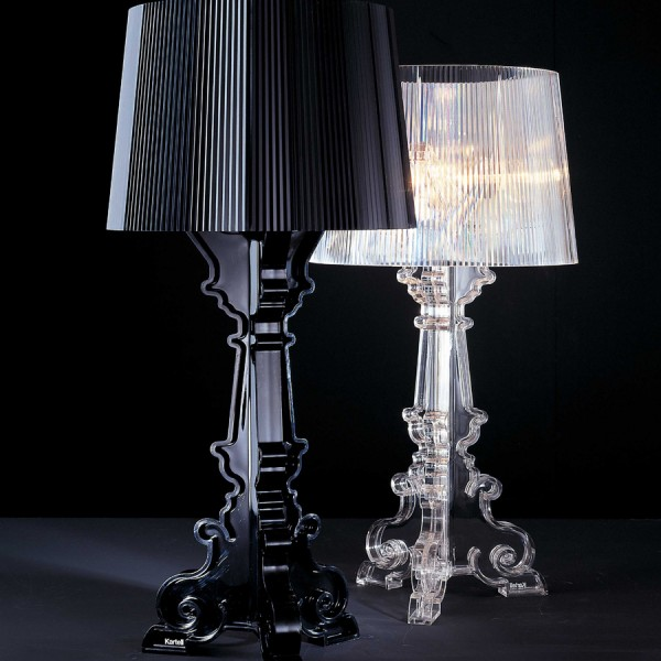 Bourge lamps 3 600x600 Bourge lamps pallet effect by Kartell