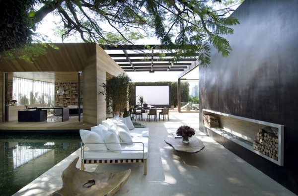 Loft247 Fernanda Marques 2 600x395 House in Brazil, perfect place for relaxing