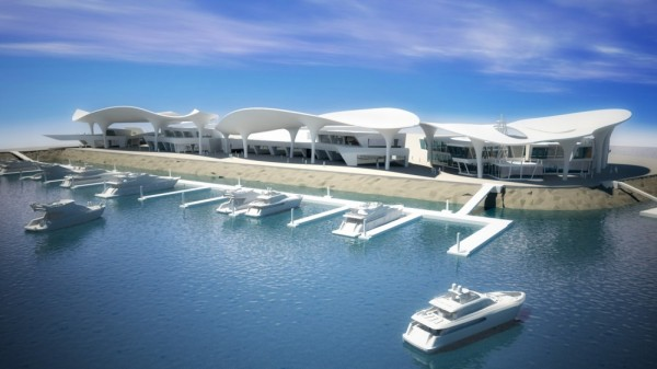 Super Marina Complex 4 600x337 Super Marina Complex by Broadway Malyan