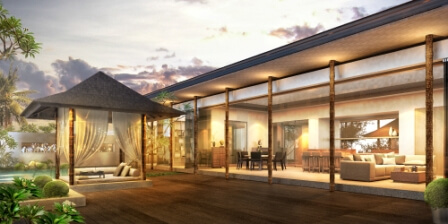 The Residences at hu'u - Penthouse Villa - Exterior View 1
