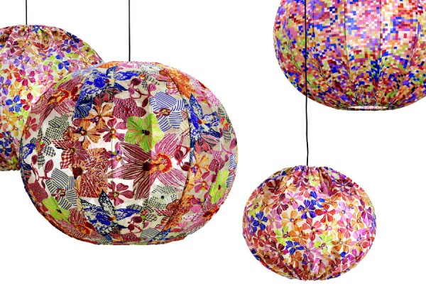 missoni bubble lamps 3 600x420 Bubble Lamp by Missoni Home