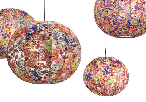 missoni bubble lamps Bubble Lamp by Missoni Home