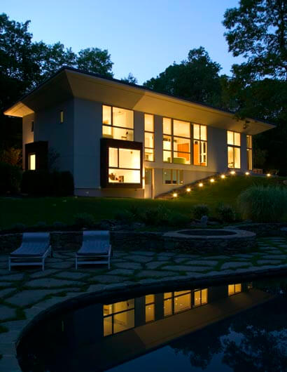 modern architecture 9 Pawling Residence modern architecture design with a trendy interior design in New York