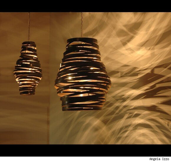 Chandeliers Sculptural Steel Lighting 2 Chandeliers Sculptural Steel Lighting by Jessica Kay Bodner