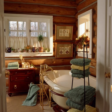 Vintage Bathroom Renovation