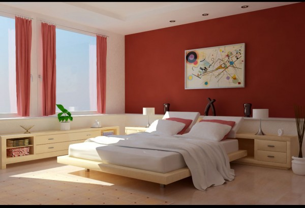 bedroom colors 18 600x409 How to Choose Colors for a Bedroom