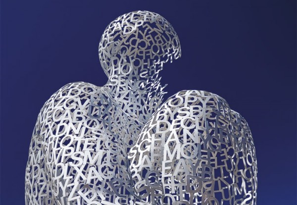 human sclupture architecture 600x414 Jaume Plensa Yorkshire Sculpture Park