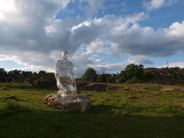 human sclupture architecture 8 600x450 Jaume Plensa Yorkshire Sculpture Park