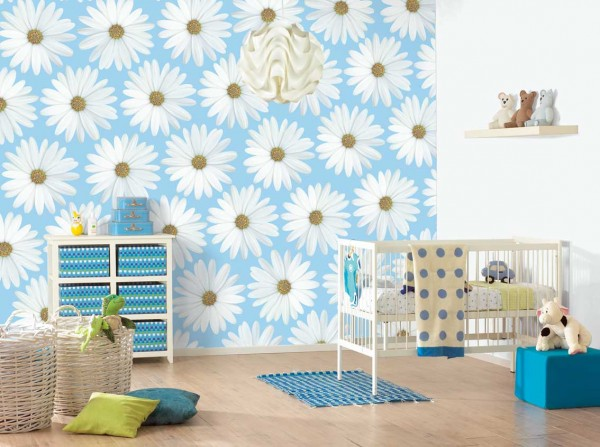 kids bedroom 13 600x447 Kids Bedroom Wall Painting Ideas