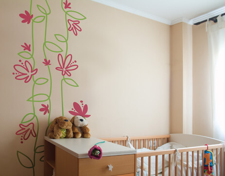 Wall Painting Ideas For Kids Bedroom Vertical Home Garden