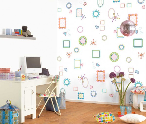 kids bedroom 7 600x509 Kids Bedroom Wall Painting Ideas