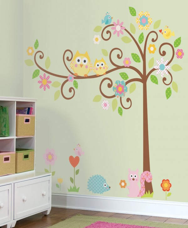 kids bedroom 8 600x726 Kids Bedroom Wall Painting Ideas
