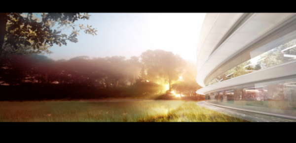 Apple Campus 2 14 600x291 Apple's New Headquarters – Concepts