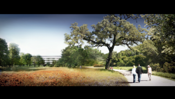 Apple Campus 2 15 600x340 Apple's New Headquarters – Concepts