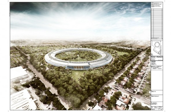 Apple Campus 2 16 600x388 Apple's New Headquarters – Concepts