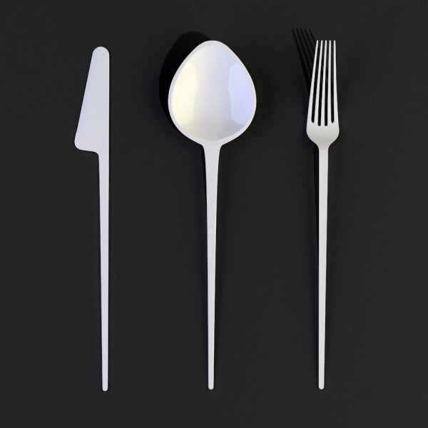 Five point fork big spoon 1 600x600 Five point fork big spoon