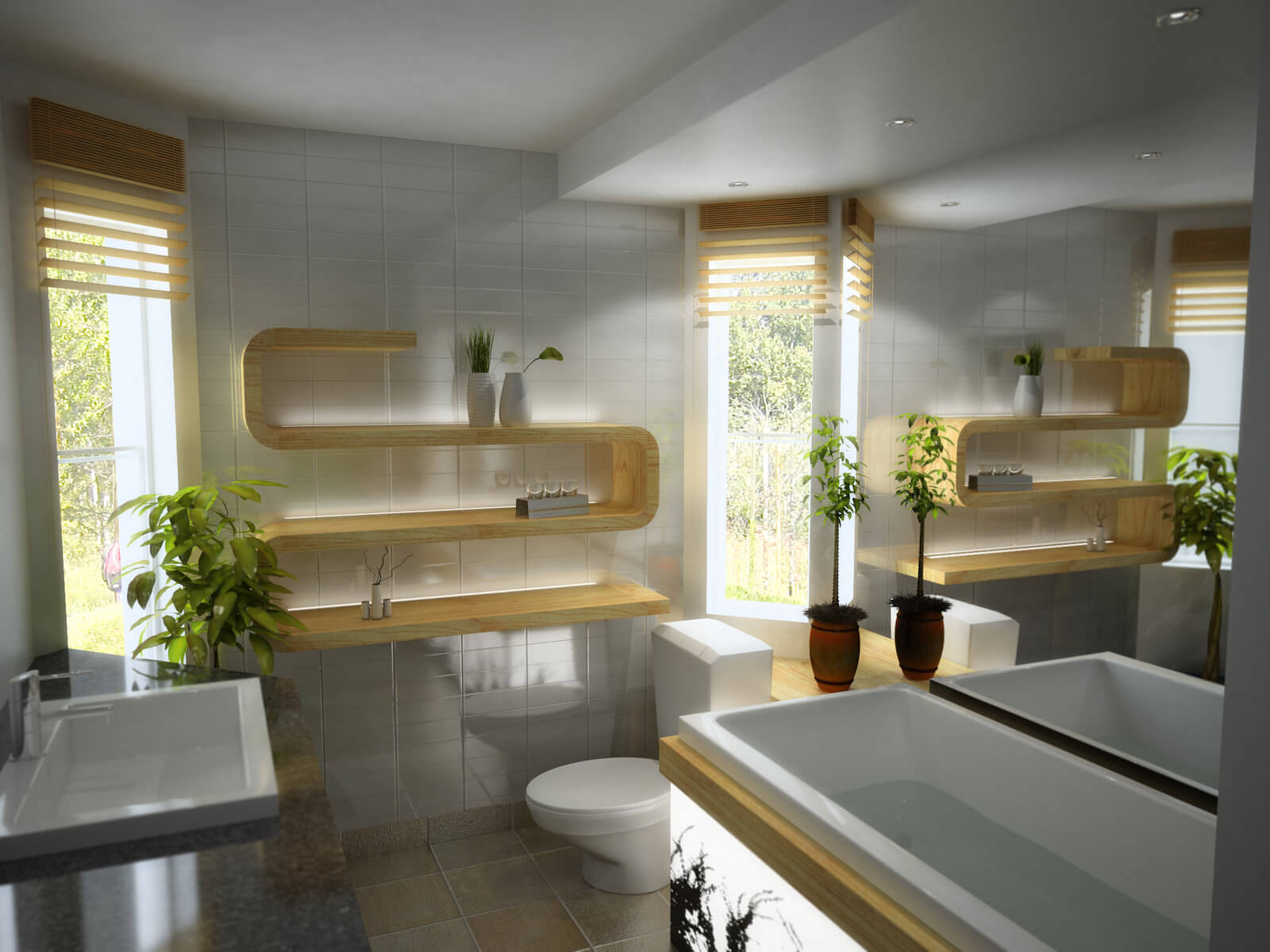 20 Examples of Innovative Bathroom Designs