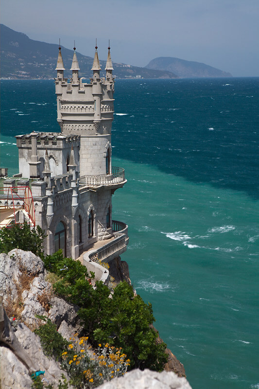 castle nest 7 Swallows Nest Castle Design Crimea