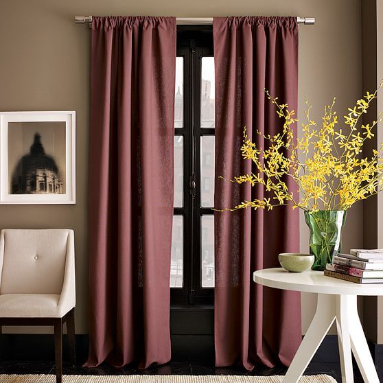 windows curtains.jpg 13 Windows curtains style decoation for youre interior design