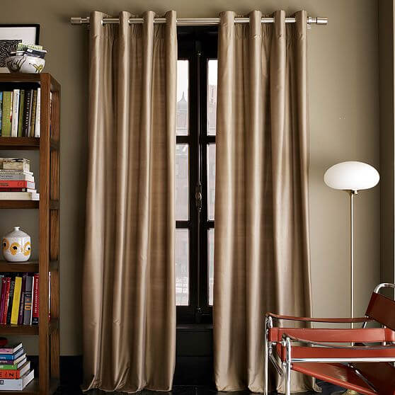 windows curtains.jpg 2 Windows curtains style decoation for youre interior design