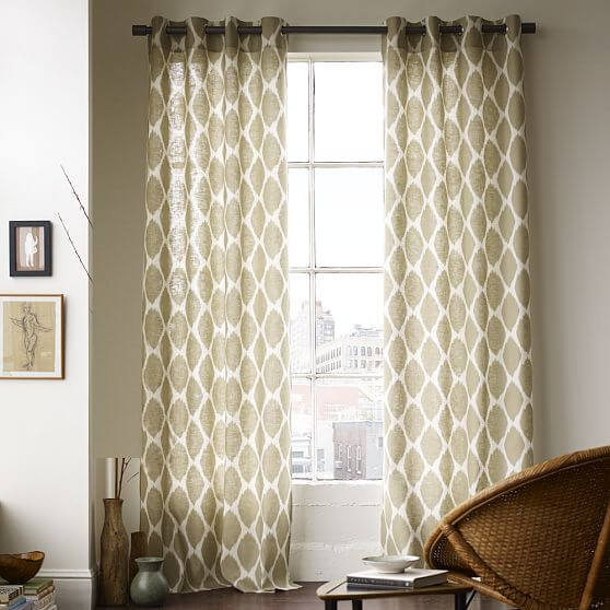 windows curtains.jpg 3 Windows curtains style decoation for youre interior design