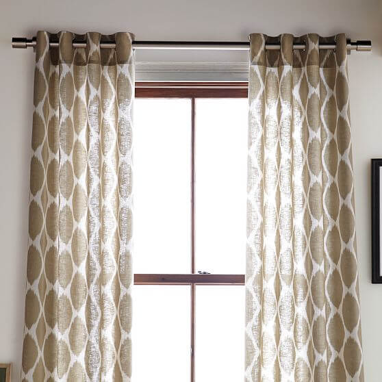 windows curtains.jpg 4 Windows curtains style decoation for youre interior design