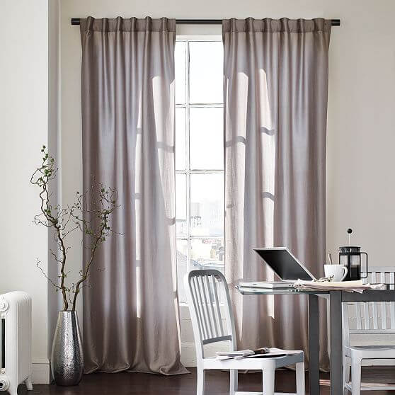 windows curtains.jpg 7 Windows curtains style decoation for youre interior design