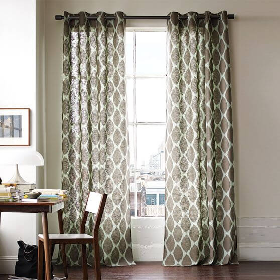 windows curtains.jpg 9 Windows curtains style decoation for youre interior design