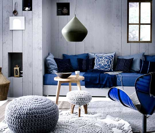 the psychology of color for interior design - Cool Colors For Living Room