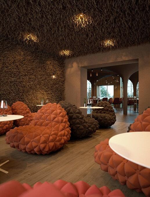 Abstract Interpretation in Interior Design by Serghii Makhno