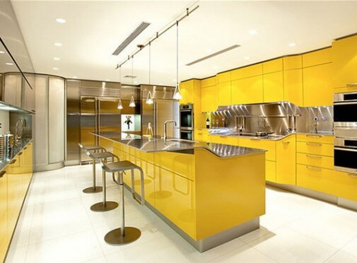 Awesome Yellow kitchen Design 1 505x3721 The Psychology of Color for Interior Design