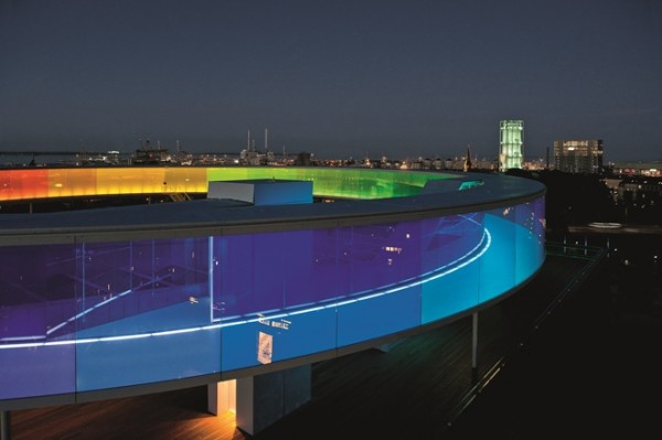 B2 ZT YourRainbowPanorama 600x399 Spectacular Work of Art for ARoS Danish Museum
