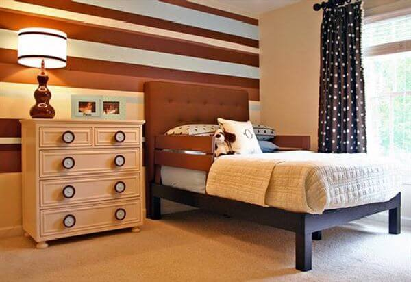 Bed Room Modern Style and Brown Color Make Refresh Think about Your Sleep The Psychology of Color for Interior Design