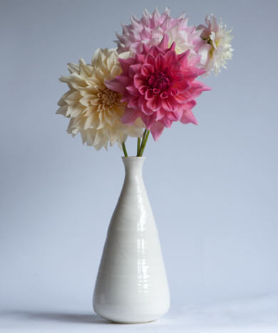 Bloom Vase L 5 Types of Charming Handmade Vases