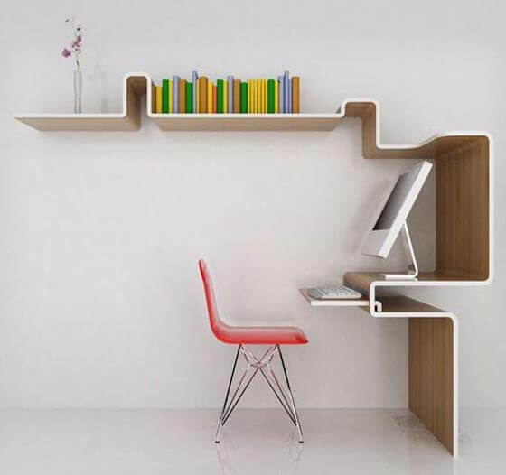 Computer Desk Design With Modern Minimalist Style 2 9 Basic Styles in Interior Design