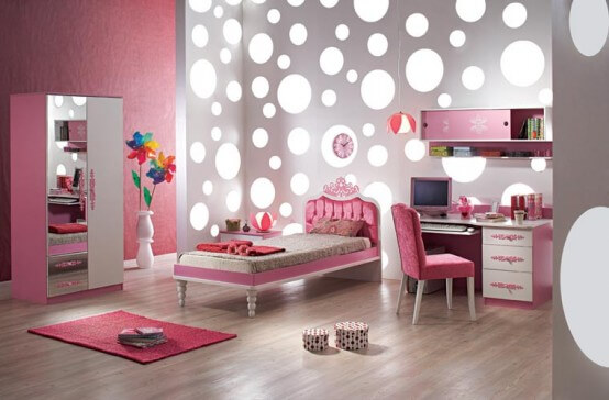 Favorite Girls Bedrooms 1 The Psychology of Color for Interior Design