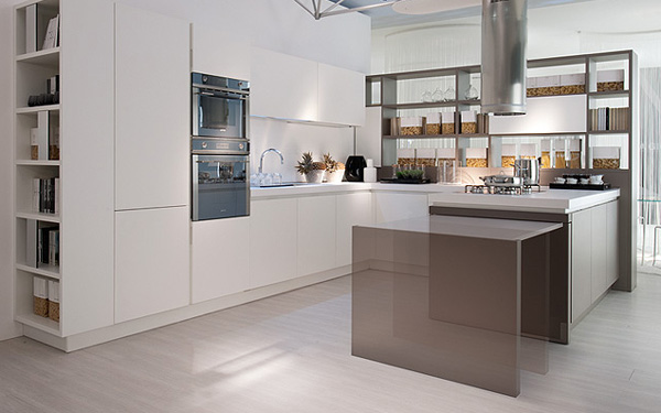 Minimalist Italian Transformable Kitchen Furniture 11 Kitchen Modern Minimalist Furniture Inspiration