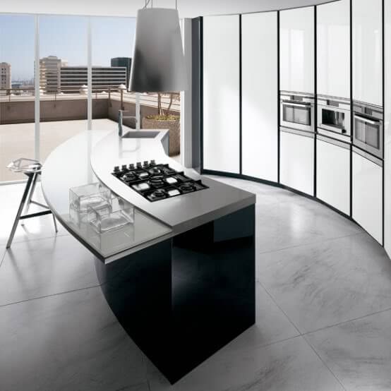 Modern Minimalist Style Kitchen by Ernostomeda4 9 Basic Styles in Interior Design