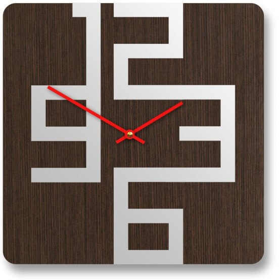 Modern wall clock made from wood b Unique and Inspiring Wall Clocks for Your Home