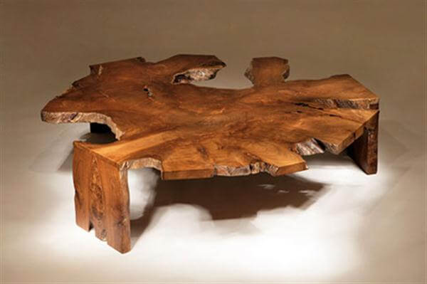 Single Contemporary Coffee Table with Rustic Style 9 Basic Styles in Interior Design