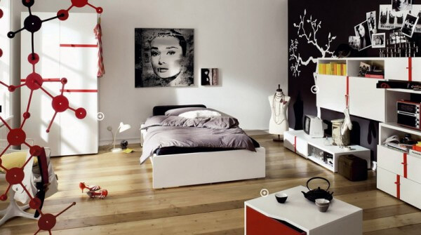 Teenage Girls Room 600x335 The Psychology of Color for Interior Design