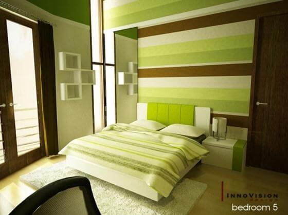 Warm Modern Green Color Bedrooms Design Ideas The Psychology of Color for Interior Design