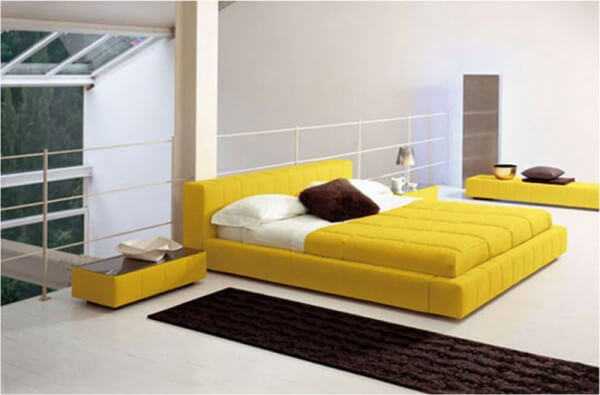 Yellow Bedroom Design.3 The Psychology of Color for Interior Design