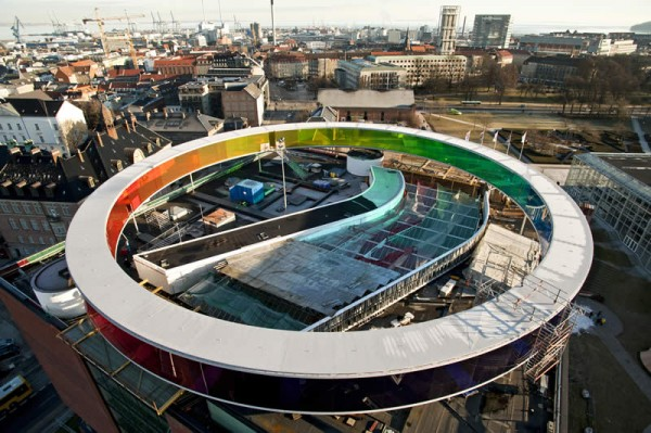 Your rainbow panorama ARoS 600x399 Spectacular Work of Art for ARoS Danish Museum