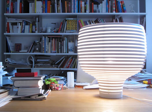 More than a Lamp, a Stylish Luminous Sculpture