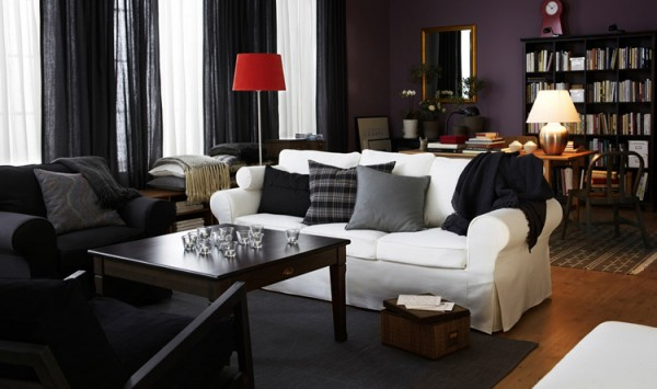 black interior layers 600x355 The Psychology of Color for Interior Design