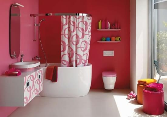 modern pink bathroom ideas by laufen 1 The Psychology of Color for Interior Design